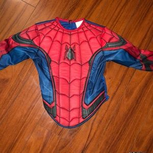 Spider-Man costume top size 4-6